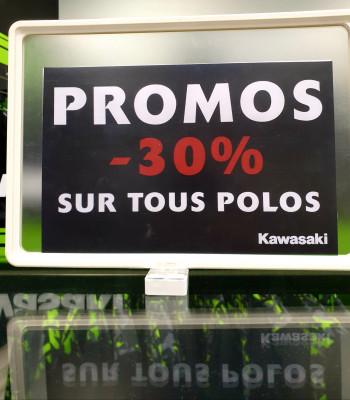 -30% sur tous les polos de la gamme Sport !