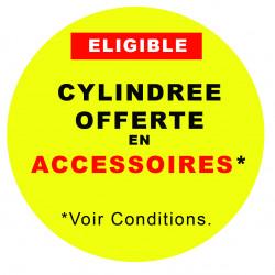 CYLINDREE OFFERTE EN ACCESSOIRE !!!*