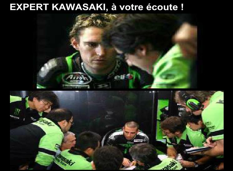 Expert Kawasaki, à votre écoute !